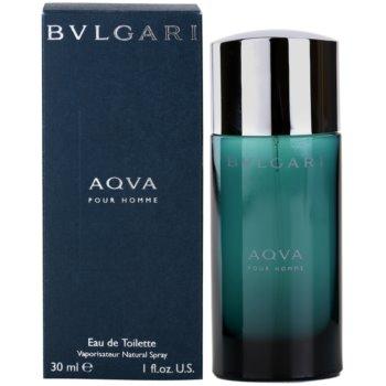 Bvlgari AQVA Pour Homme eau de toilette per uomo 30 ml