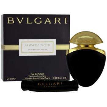 Bvlgari Jasmin Noir eau de parfum per donna 25 ml + sacchetto in raso