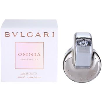 Bvlgari Omnia Crystalline eau de toilette per donna 40 ml