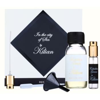 By Kilian Forbidden Games kit regalo I eau de parfum ricarica 50 ml + flacone ricaricabile 7,5 ml + imbuto  + diffusore