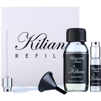 By Kilian Love and Tears, Surrender kit regalo I. eau de parfum ricarica 50 ml + flacone ricaricabile 7,5 ml + imbuto  + diffusore