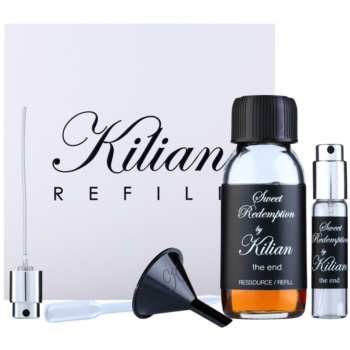 By Kilian Sweet Redemption, the end kit regalo I. eau de parfum ricarica 50 ml + flacone ricaricabile 7,5 ml + imbuto  + diffusore