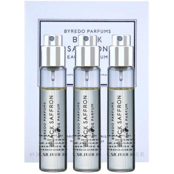 Byredo Black Saffron eau de parfum unisex 3 x 12 ml (3x ricariche con diffusore)