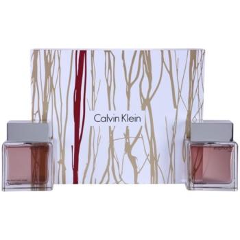 Calvin Klein Euphoria Men kit regalo I eau de toilette 100 ml + lozione after-shave 100 ml