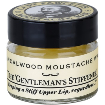 Captain Fawcett Moustache Wax cera per baffi (Sandalwood Moustache Wax) 15 ml