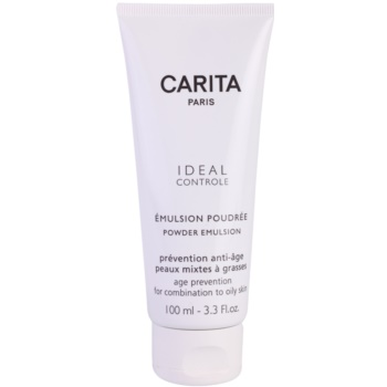 Carita Ideal Controle emulsione effetto cipria per pelli miste e grasse (Powder Emulsion) 100 ml