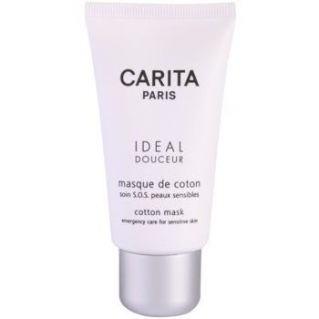 Carita Ideal Douceur maschera lenitiva per pelli sensibili (Cotton Mask) 50 ml