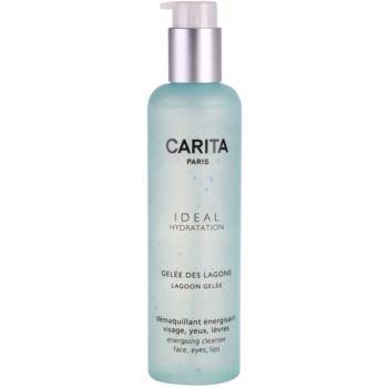 Carita Ideal Hydratation gel detergente enrgizzante per viso e occhi (Lagoon Gelée) 200 ml