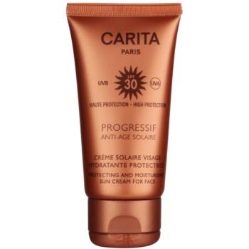 Carita Progressif Anti-Age Solaire crema idratante protettiva SPF 30 (Protecting and Moisturising Sun Cream for Face) 50 ml