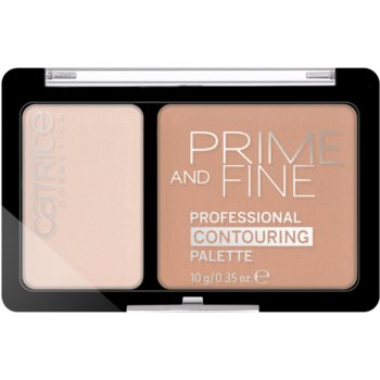 Catrice Prime And Fine palette contouring colore 030 Sunny Sympathy 10 g