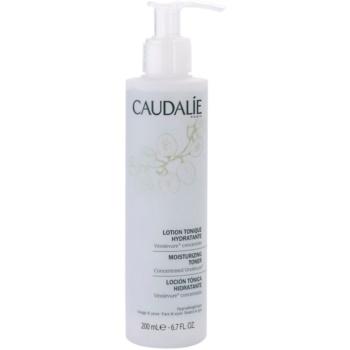 Caudalie Cleaners&Toners lozione tonica idratante per viso e occhi (Moisturizing Toner With Pump) 200 ml