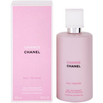 Chanel Chance Eau Tendre gel doccia per donna 200 ml