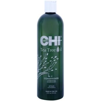 CHI Tea Tree Oil balsamo rinfrescante per capelli e cuoio capelluto grassi (Paraben Free) 739 ml