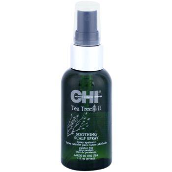 CHI Tea Tree Oil spray lenitivo contro irritazioni e prurito del cuoio capelluto (Paraben Free) 59 ml