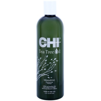 CHI Tea Tree Oil shampoo per capelli e cuoio capelluto grassi (Sulfate and Paraben Free) 340 ml