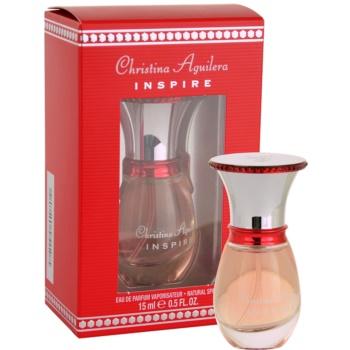 Christina Aguilera Inspire eau de parfum per donna 15 ml