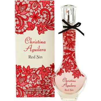 Christina Aguilera Red Sin eau de parfum per donna 50 ml