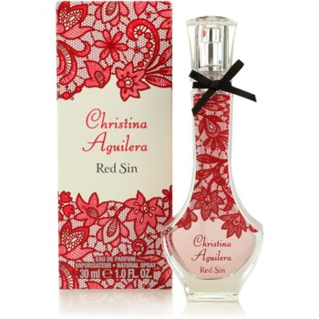 Christina Aguilera Red Sin eau de parfum per donna 30 ml