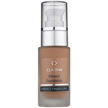 Clarena Perfect Finish Line Mineral fondotinta minerale per pelli sensibili e acneiche confezione grande colore Amber 30 ml