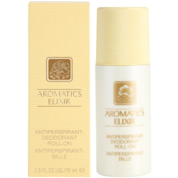 Clinique Aromatics Elixir deodorante roll-on per donna 75 ml