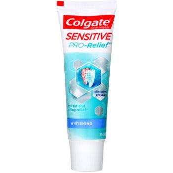 Colgate Sensitive Pro Relief + Whitening dentifricio sbiancante per denti sensibili (Instant & Lasting Relief) 75 ml