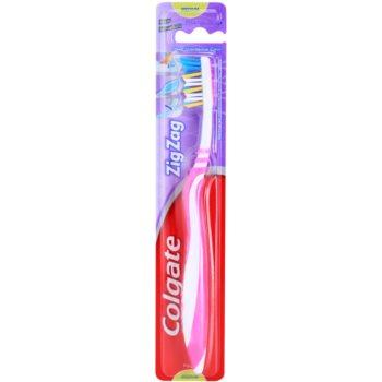 Colgate Zig Zag spazzolino da denti medium Pink (Deep Interdental Clean)