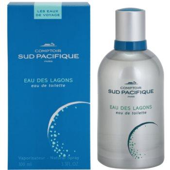 Comptoir Sud Pacifique Eau Des Lagons eau de toilette per donna 100 ml
