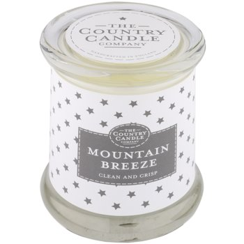 Country Candle Mountain Breeze candela profumata   in vetro con coperchio
