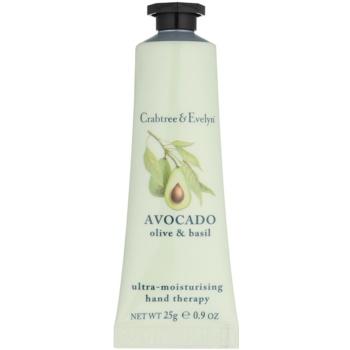 Crabtree & Evelyn Avocado crema idratante per le mani (Ultra-Moisturising Hand Therapy) 25 g