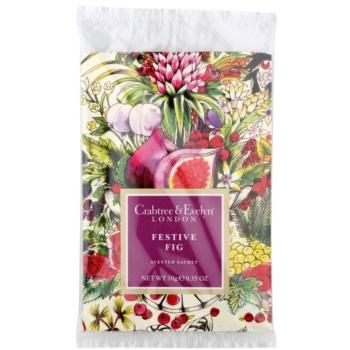 Crabtree & Evelyn Festive Fig profuma biancheria 10 g