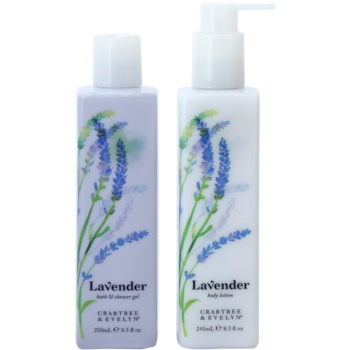 Crabtree & Evelyn Lavender set di cosmetici I.