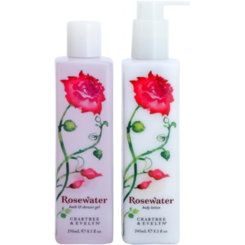 Crabtree & Evelyn Rosewater set di cosmetici I.