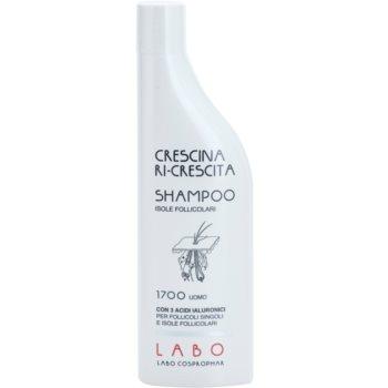 Crescina Re-Growth Follicular Islands 1700 shampoo anti-diradamento stadio iniziale per uomo (With 3 HA) 150 ml