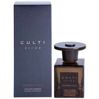 Culti Decor diffusore di aromi con ricarica 250 ml confezione di taglia media (Incenso Di Oud)