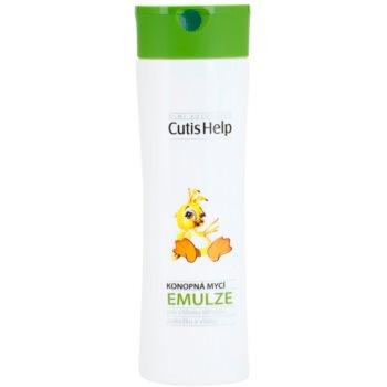 CutisHelp Mimi emulsione detergente alla canapa per neonati 200 ml