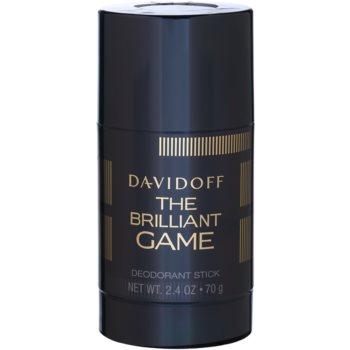 Davidoff The Brilliant Game deodorante stick per uomo 75 ml
