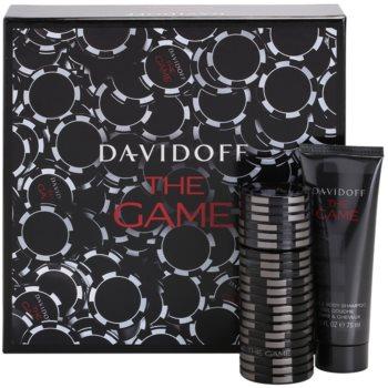 Davidoff The Game kit regalo II eau de toilette 60 ml + gel doccia 75 ml
