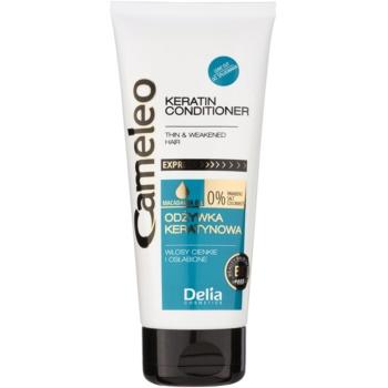 Delia Cosmetics Cameleo BB balsamo alla keratina per capelli delicati e mosci 200 ml
