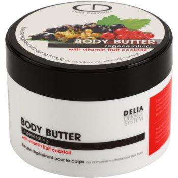Delia Cosmetics Dermo System burro corpo per pelli molto secche (Regenerating) 200 ml