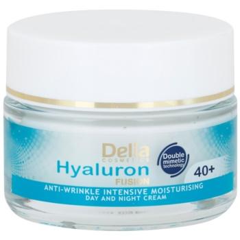 Delia Cosmetics Hyaluron Fusion 40+ crema idratante intensa antirughe 50 ml