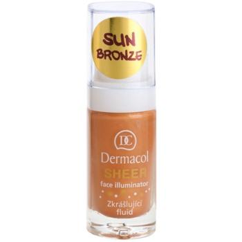 Dermacol Face Illuminator lozione perfezionatrice colore Sun Bronze 15 ml