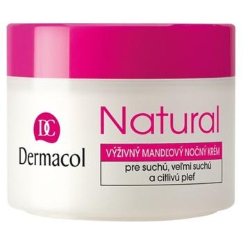 Dermacol Natural crema notte nutriente per pelli secche e molto secche (Nourishing Almond Night Cream) 50 ml