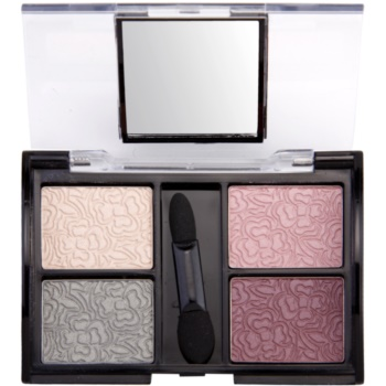 Dermacol Quattro Eye Shadows ombretti (For Hazelnut Eyes) 5 g