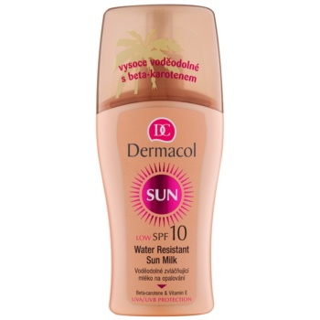 Dermacol Sun Water Resistant latte abbronzante waterproof SPF 10 (Water Resistant Sun Spray Milk) 200 ml