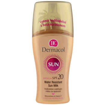 Dermacol Sun Water Resistant latte abbronzante waterproof SPF 20 (Water Resistant Sun Spray Milk) 200 ml