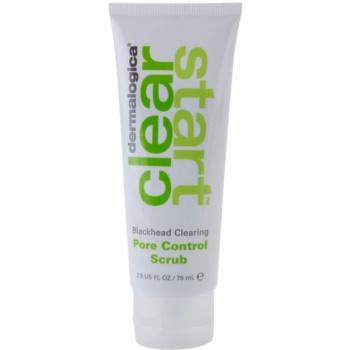 Dermalogica Clear Start Blackhead Clearing scrub di pulizia profonda contro i punti neri (Pore Control Scrub) 75 ml