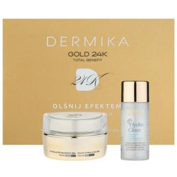 Dermika Gold 24k Total Benefit set di cosmetici I.