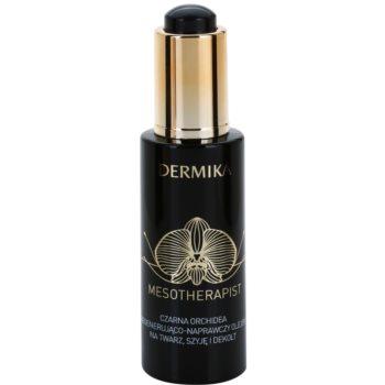 Dermika Mesotherapist olio notte rigenerante per viso, collo e décolleté (The Power of Black Orchid) 30 ml