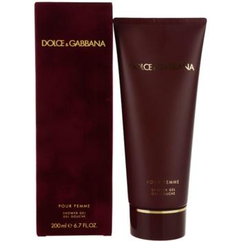 Dolce & Gabbana Pour Femme (2012) gel doccia per donna 200 ml