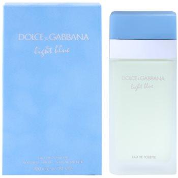 Dolce & Gabbana Light Blue eau de toilette per donna 200 ml